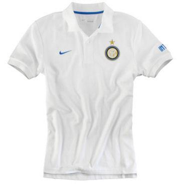 Foto 2011-12 Inter Milan Nike Travel Polo Shirt (White)