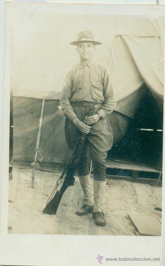 Foto año 1918 ejército a determinar camp las bacas