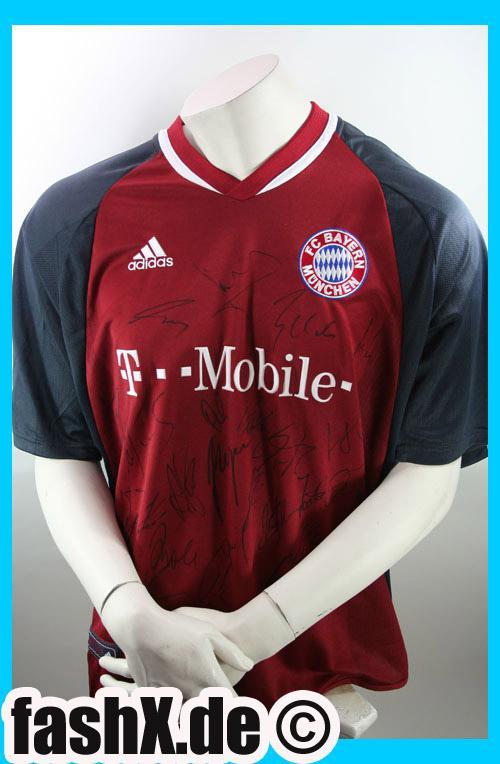 Foto Adidas Bayern München camiseta L manual signatura nuevo