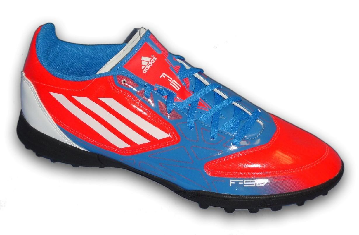 Foto Adidas f50-f5 roja benzema villa 2012 zapatilla futbol calle sala