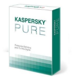 Foto Antivirus kaspersky pure v 2.0 3 usuarios