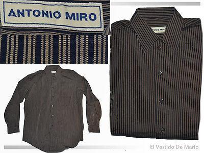 Foto Antonio Miro Camisa Hombre M-l Pvp 100 Euros