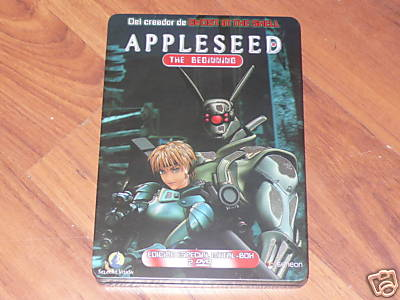 Foto Appleseed  - The Beginning - Caja Metálica - Steelbook