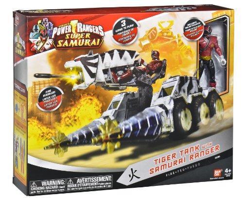 Foto Bandai 31760 Power Rangers Samurai - Vehículo zord tigre