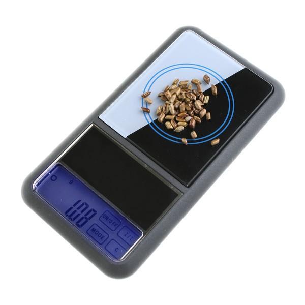 Foto Bascula digital LCD pantalla tactil de precision 200g