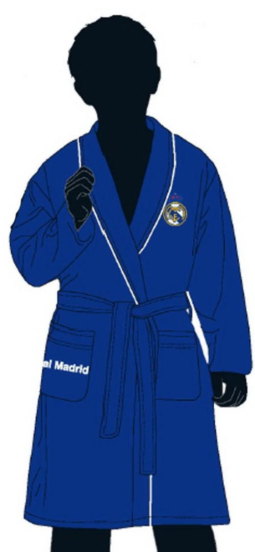 Foto Bata azul calidad real madrid 4 años