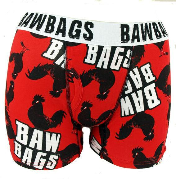 Foto BawBags Gallo Boxer Shorts - Rojo