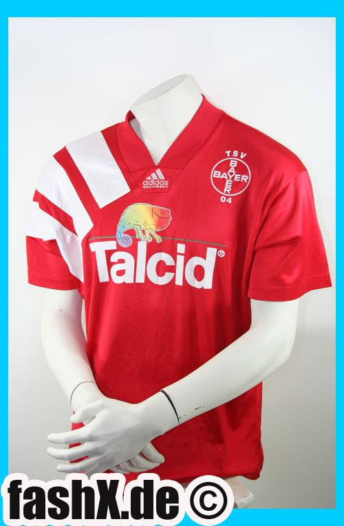 Foto Bayer Lerverkusen Match-Worn camiseta talla L talcid Adidas