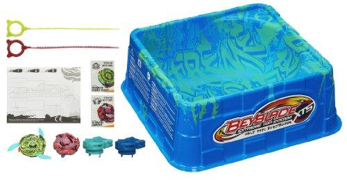 Foto Beyblade - Super Estadio C/ 2 Peonzas Exclusivas (Hasbro) 27-38441