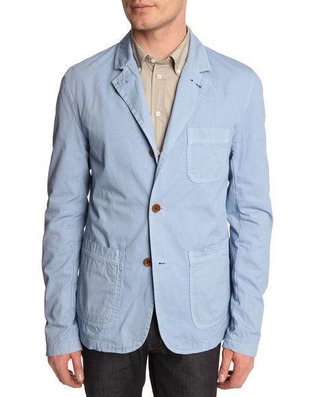 Foto Blazers Casual Chaqueta americana dye blazer