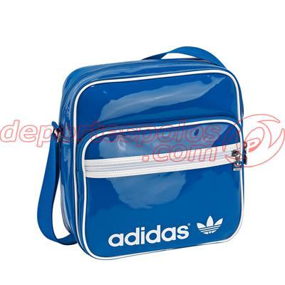 Foto bolsa de hombro/adidas:ac sir bag pat unica azulci