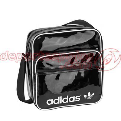 Foto bolsa de hombro/adidas:ac sir bag pat unica negro/