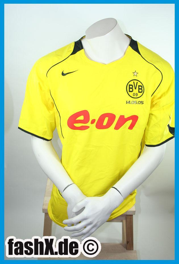 Foto Borussia Dortmund BVB Nike Camiseta L E-on Derbysieger 05