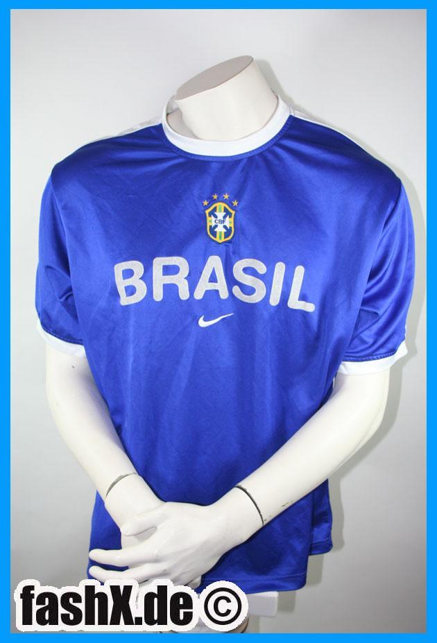 Foto Brazil camiseta Nike talla L 2014 azul