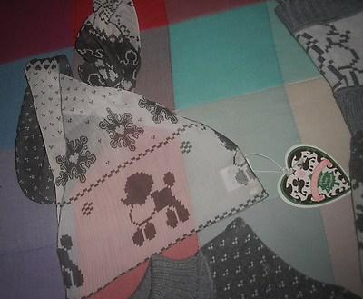 Foto Bufanda O Pañuelo Fino Marca Holy Preppy Nuevo Con Etiqueta Con Estampado Perro