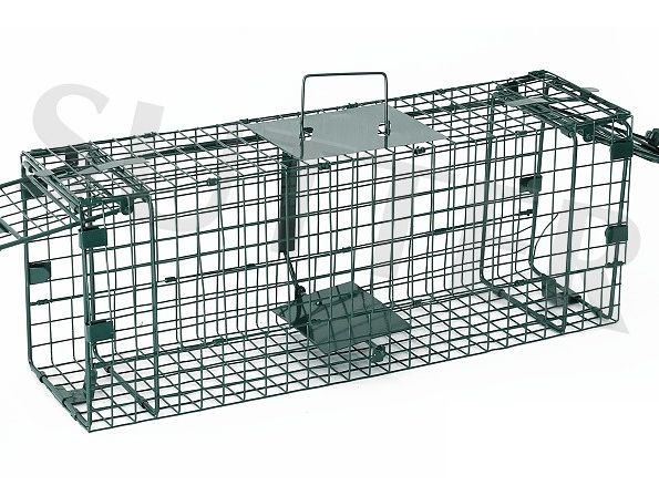 Foto Caja-trampa de alambre Sutter para aves y roedores