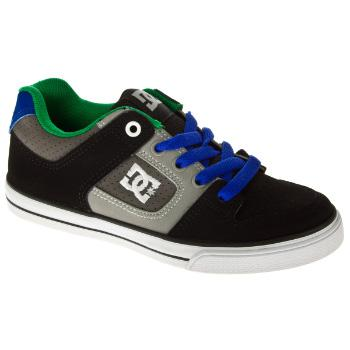 Foto Calzado niños DC Pure youth - black/royal/emerald