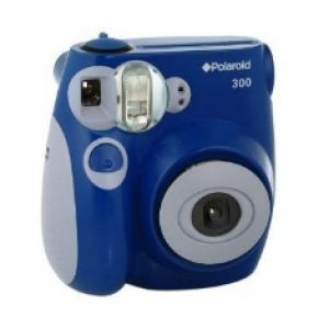 Foto Camara analogica polaroid instant 300 azul