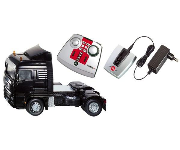 Foto Camión man negro radio control