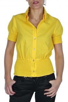 Foto Camisa amaya arzuaga corta amarilla 01.01.05857