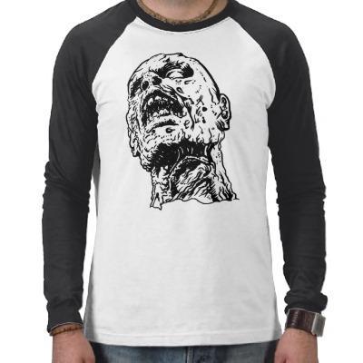 Foto Camisa del zombi - camiseta del zombi, asesino del