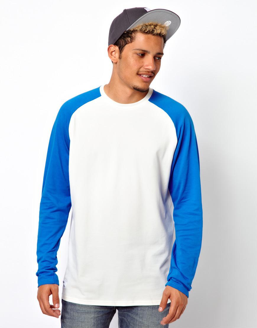 Foto Camisa raglán de Adidas Originals Blanco