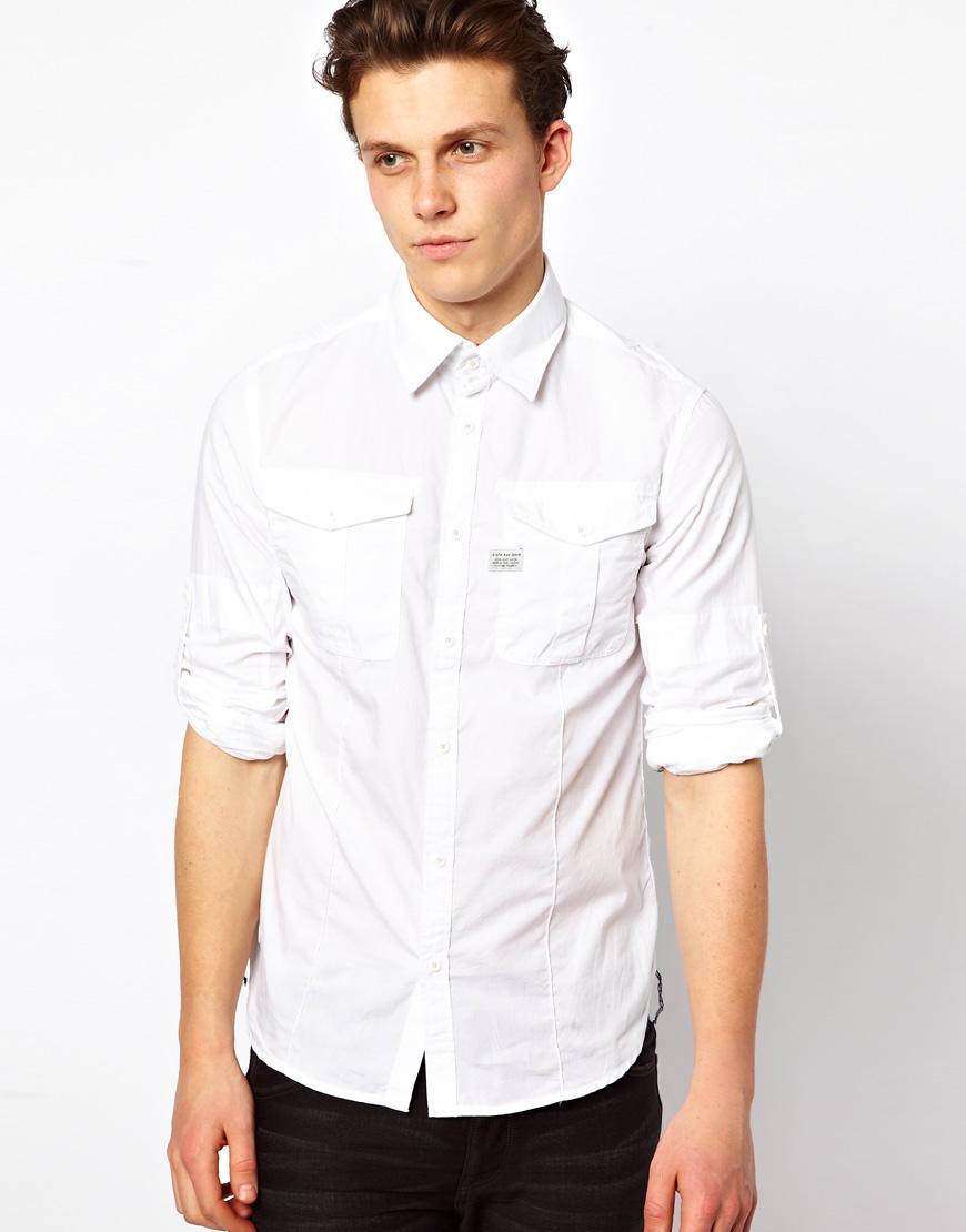 Foto Camisa Seafarar de G-Star Blanco