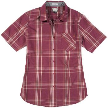 Foto Camisas Volcom Why Factor Plaid Shirt - plum