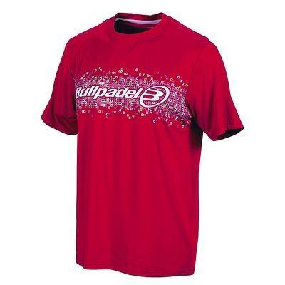 Foto Camiseta Bull Padel Roja