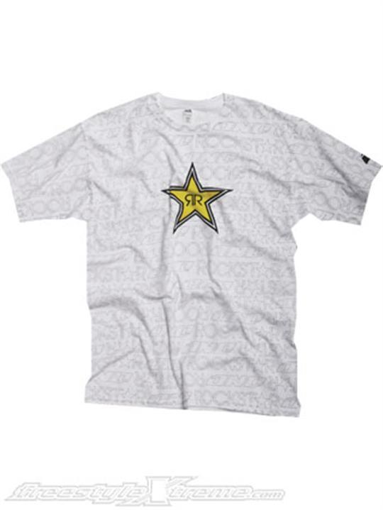 Foto Camiseta De Niño One Industries Rockstar Writing on the Wall Bianco