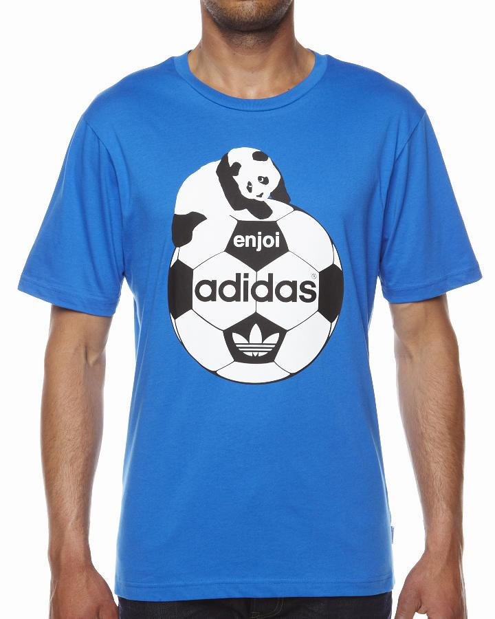 Foto Camiseta Enjoi De Adidas - Azul Azur