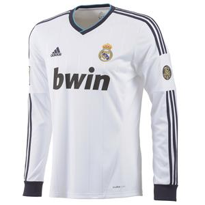 3c50d533b7c33 Foto camiseta manga larga adulto 1ª equipación real madrid 2012-2013. talla  s