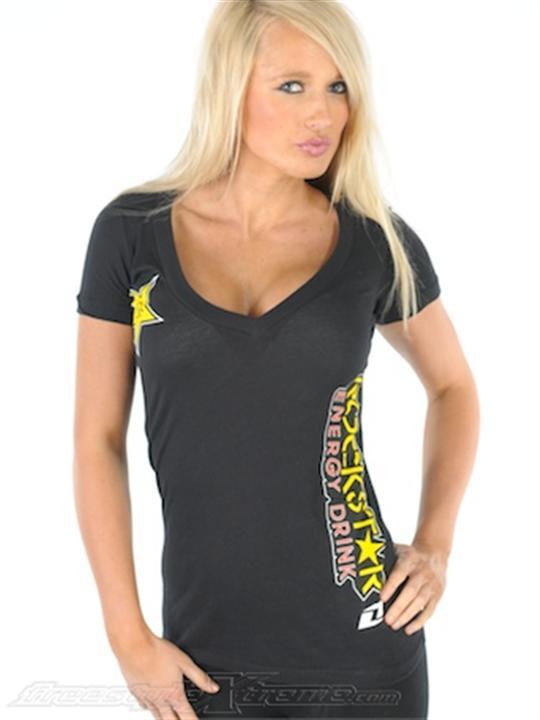 Foto Camiseta mujer One Industries Rockstar Racine negro