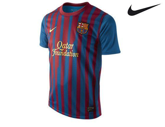 Foto Camiseta Oficial del FCBarcelona 2011-12 1º equip Infantil-Juvenil