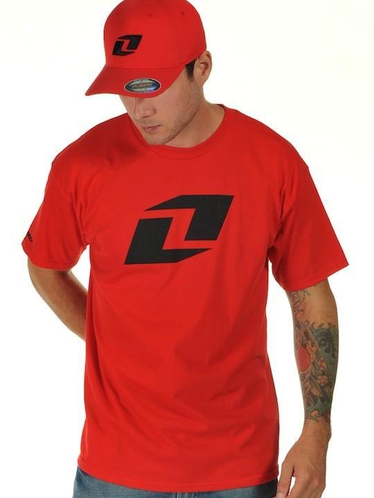 Foto Camiseta One Industries Icon Rojo Negro