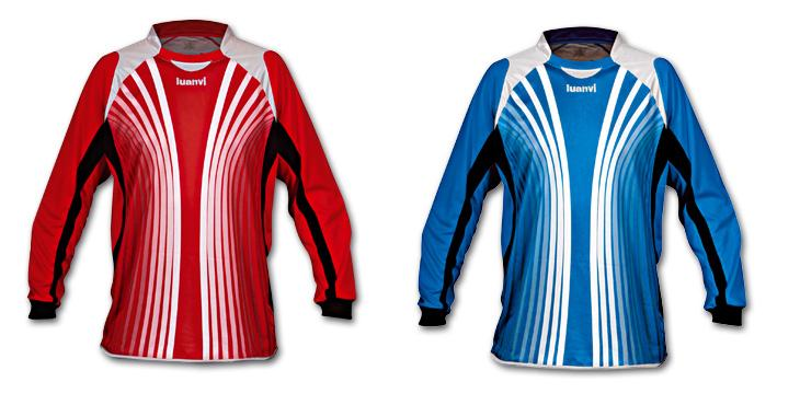 Foto Camiseta portero luanvi calcio