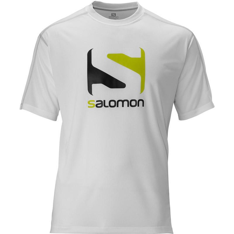 Foto Camiseta Salomon Stroll Logo Tee Blanca XL