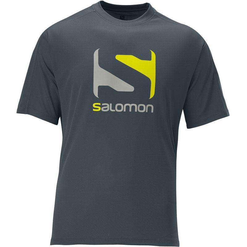 Foto Camiseta Salomon Stroll Logo Tee Gris XL