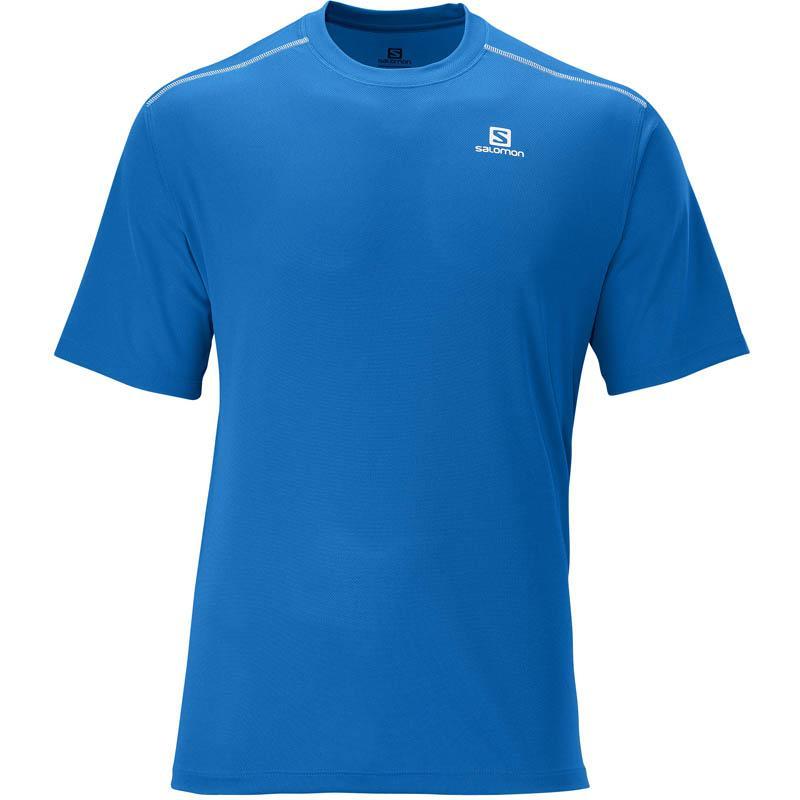 Foto Camiseta Salomon Stroll Tee Blue M