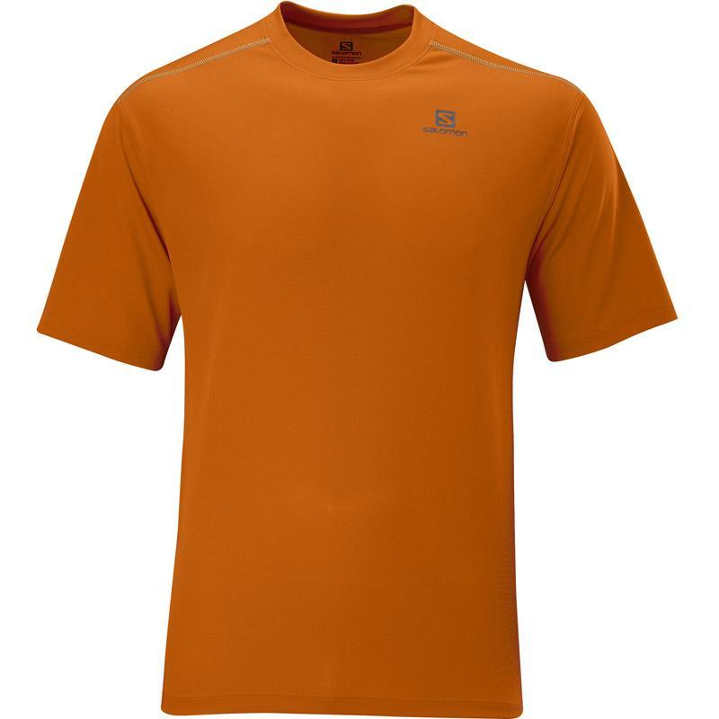 Foto Camiseta Salomon Stroll Tee Orange M