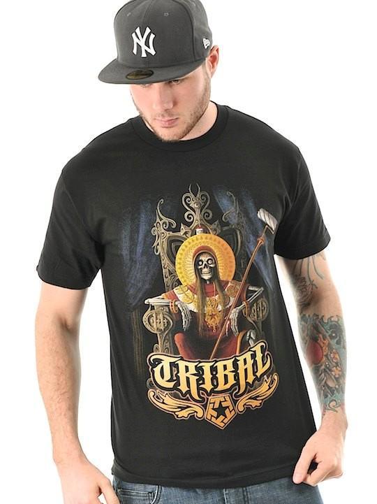 Foto Camiseta Tribal Streetwear Coi Negro