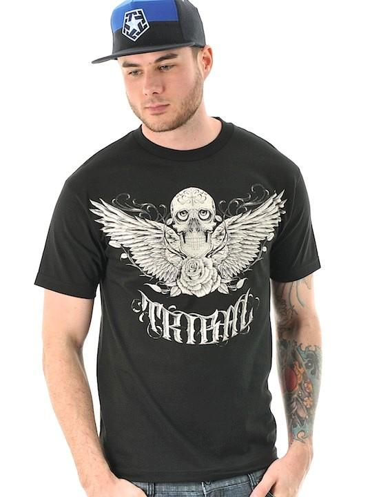 Foto Camiseta Tribal Streetwear Franco Negro