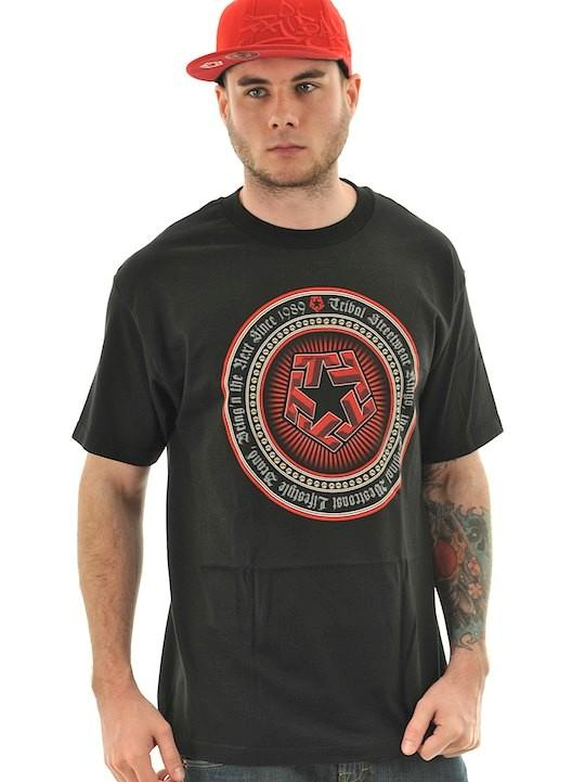 Foto Camiseta Tribal Streetwear Medallion Negro
