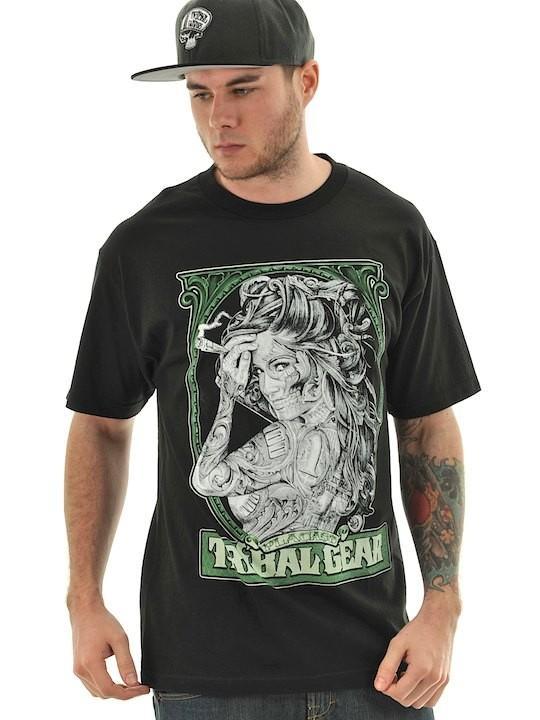 Foto Camiseta Tribal Streetwear Money Placaso Negro