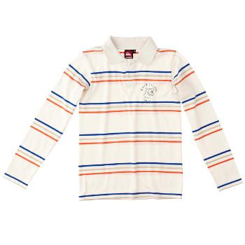 Foto Camisetas infantil Quiksilver Girdwood Polo LS Youth - cream