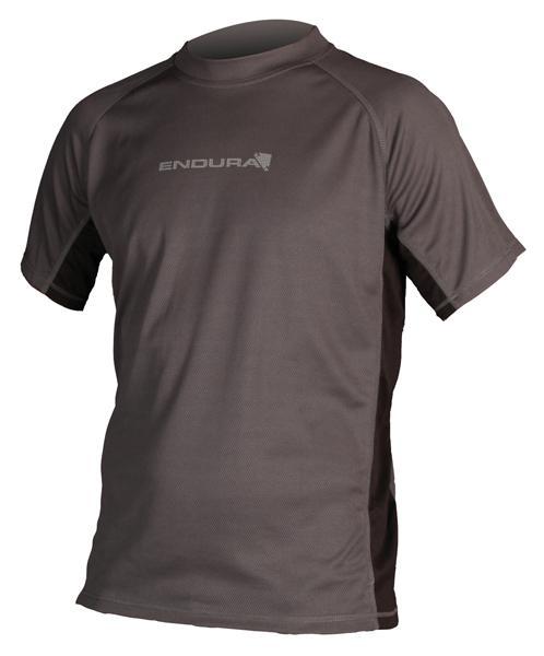 Foto Camisetas y sudaderas Endura Cairn S/s T Shirt Grey/black