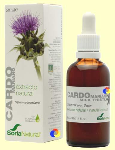 Foto Cardo Mariano - Extracto de Glicerina Vegetal - Soria Natural - 50 ml