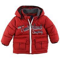 Foto Cazadora de niño roja - 3 años - ropa timberland