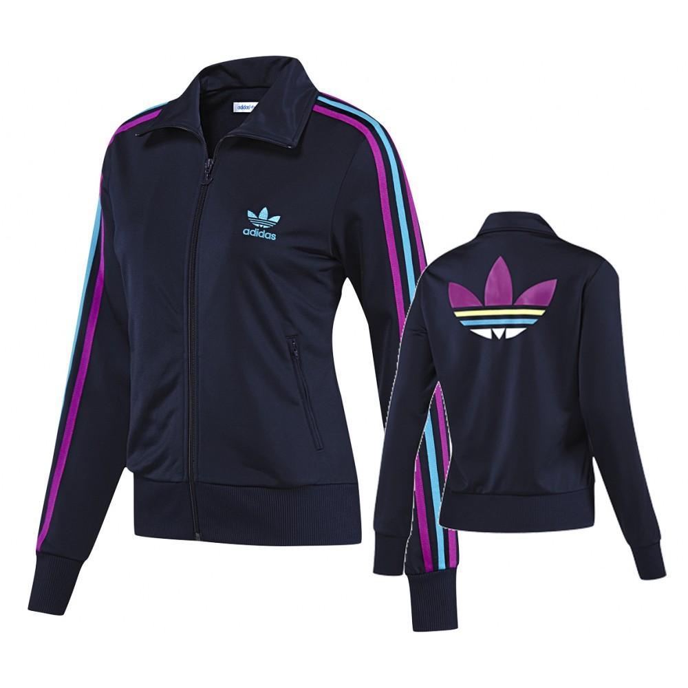 Foto Chaqueta para mujer Adidas Supernova UK 14 Blue