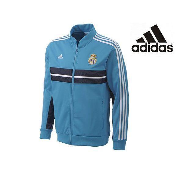 Foto Chaqueta Oficial del Real Madrid azul Himno 2013